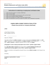 Sample Of Employment Certification Letter Sample Word Resume