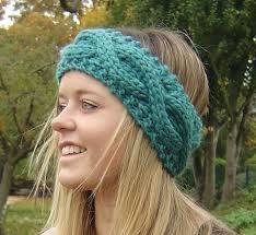 Knitted Headband Pattern Classy Cool Chunky Knit Headband Pattern Knitting Pattern Chunky Headband