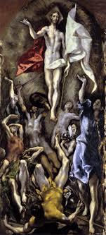 the resurrection by el greco 1596 1600