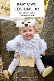 hedwig baby owl costume diy that s no sew really