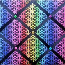 Purple Memo Board Adorable Shop Fabric Memo Board On Wanelo