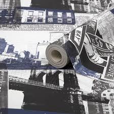 Fresco New York Blue and Black ...