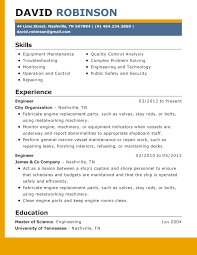 Resume Example 2015 Musiccityspiritsandcocktail Com
