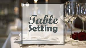 Table Setting The Easy Guide To Elegance