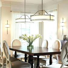 dining area lighting modern