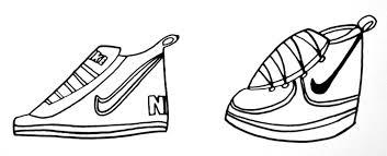 nike shoes drawings. nike drawings shoes