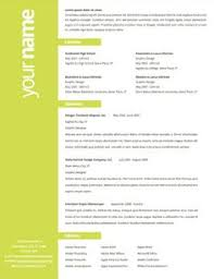 Resume Design Layout Inspiration - simple, easy to read, bold sideline of  color grabs attention, well organized