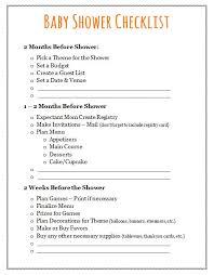 Baby Shower Decoration Checklist Baby Shower Checklist Plan Your Event Frugal Fanatic