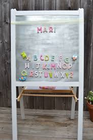 ... Casual Interior Decorating Design Ideas Using Ikea Easel For Kids  Bedroom : Exciting Magnetic Black Board ...
