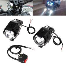 Motorbike Fog Lights Details About 2x Led Motorcycle U5 Headlight Motorbike Driving Fog Spot Lights 125w New