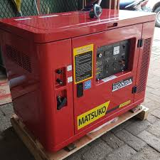 honda diesel generator. Genset Honda Silent 6 Kva 5000 Watt Bensin Diesel Generator A