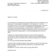 Lettera Di Presentazione Perfezionare Esempio Lettera Presentazione Studio Legale