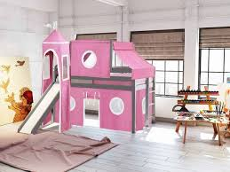 princess bunk beds with slide. Plain Princess This Low Loft Princess Bed Will Look Great In Your Home For Bunk Beds With Slide C