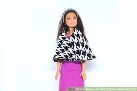 image titled make a no sew no glue barbie doll top step 13