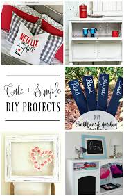 i love to take on simple diy projects in the winter time i definitely don