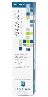 Buy ANDALOU naturals <b>Argan Stem</b> Cell <b>BB</b> Benefit Balm Un-Tinted ...