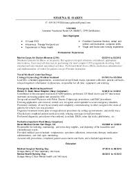 Resume Set Up Awesome SHAUNA R OAKES LVN Resume 48