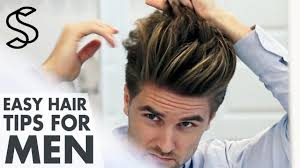 Men Hair Style Picture mens hairstyling tips 5 min hair guide mens look youtube 6243 by wearticles.com