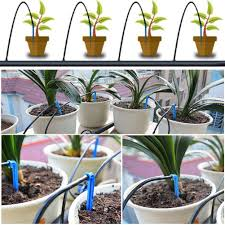 diy automatic watering device drip garden plants home irrigation kit set