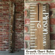 How To Mark A Wooden Growth Chart Growth Chart Ruler Diy With Video 10 Steps With Pictures