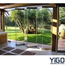 captivating glass folding door frameless hydraulic bi fold hangar exterior interior cost south africa uk