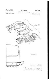 Patent us2637592 automobile body structure patents