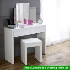 best 25 white gloss dressing table ideas on quarto de regarding vanity table white