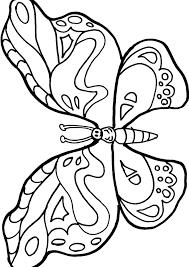Immagini Da Disegnare Per Bambini Con Disegno Farfalla Da Colorare