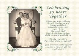 honor your pas with a thoughtful and exciting 50th anniversary party
