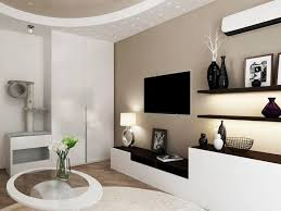 Living Ideas Modern Living Room Designs With Creative TV Stand Ideas .