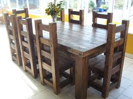 full size of dining room solid oak dining table set real wood table and chairs solid