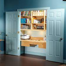 How To Turn A Closet Into An Office Diy Family Handyman
