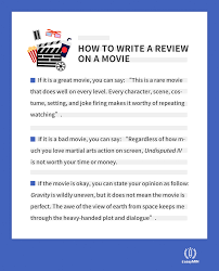 How To Write A Movie Review How To Write A Movie Review The Complete Guide Essaymin