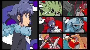 Alain's Team Pokemon - YouTube