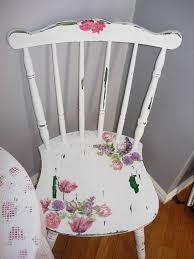 diy decoupage furniture. Shabby Chic Chair, Decoupage, Flowers On Furniture, Decoupage Distressed Diy Furniture S