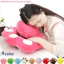 Office nap pillow Original Nap Pillow Cushion Meat Ball Cute Relaxation Pillow Neck Pillow Desk Office Nap Judo Worth Soft And Fluffy Pillow muchu Souqcom Muchushop Nap Pillow Cushion Meat Ball Cute Relaxation