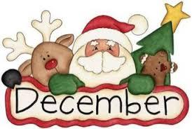 December Calendar Clip Art Rr Collections