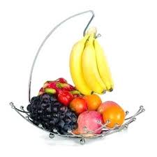 fruit bowl with banana hook wooden fruit bowl with banana hook uk