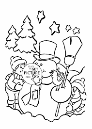 Small Picture Free Page Free Snowman Coloring Snowman Coloring Page Frosty The