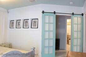 mirrored french closet doors. Upcycling Idea Reclaimed French Doors Mirrored Closet T