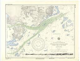Us Navy Nautical Charts Amazon Com Professionally Reprinted 8 X 12 Image Of 1944