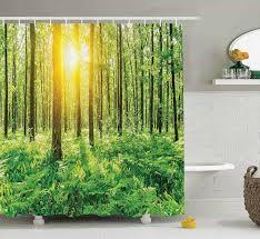 unique shower curtains. Woodland Shower Curtain Unique Curtains