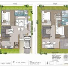 Home Design  X House Plans x House Design India x House    Lake Shore Villas Designer Duplex Villas For Sale In Prime Locality x House Plans x House Plans India
