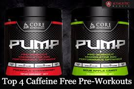 Gym Supplement Vending Machine New Best Caffeine Free Pre Workout 48 Athletic Muscle