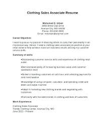 Sales Associate On Resume Delectable Retail Store Template Holidaysmalta