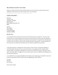 Executive Resume Cover Letter Examples Business Management Cover ...