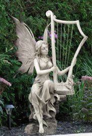 garden fairy statues. 9445 Garden Fairy @Pacific Trading H: 22\ Statues S