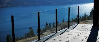 glass railing systems a glass railings falcon railing deck railing glass systems