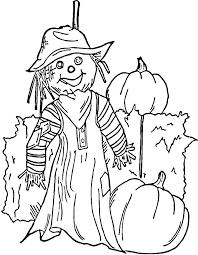 printable scarecrow coloring pages scarecrow color pages free printable scarecrow coloring sheets