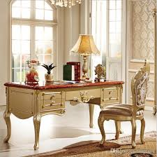 classic office desks. Wholesale French Baroque Style Luxury Executive Office Desk/ European Classic Wood Carving Writing Table/ Retro Home Furniture Pfy10080 By Tengtank Desks O